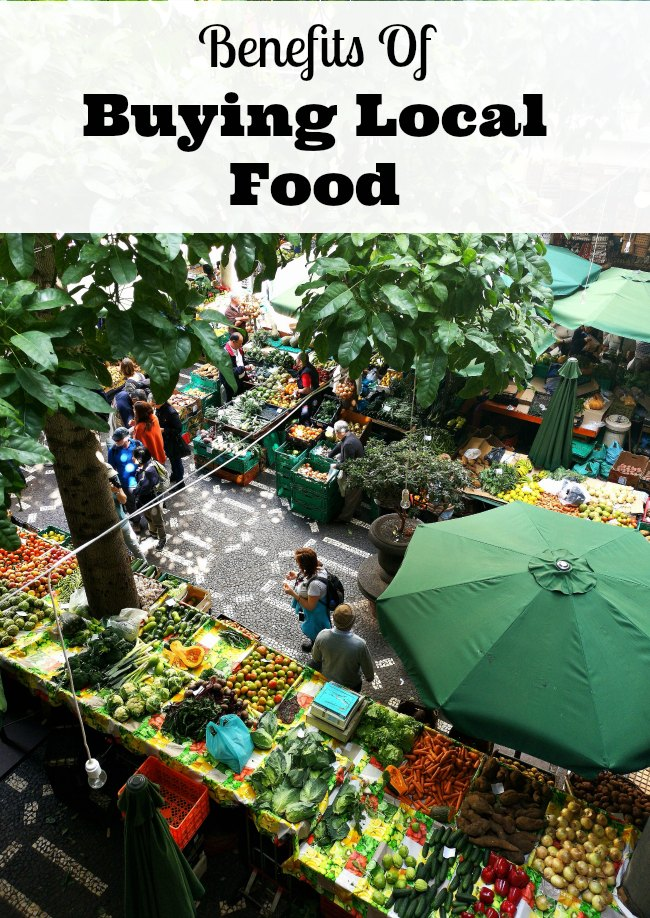 benefits buying local food