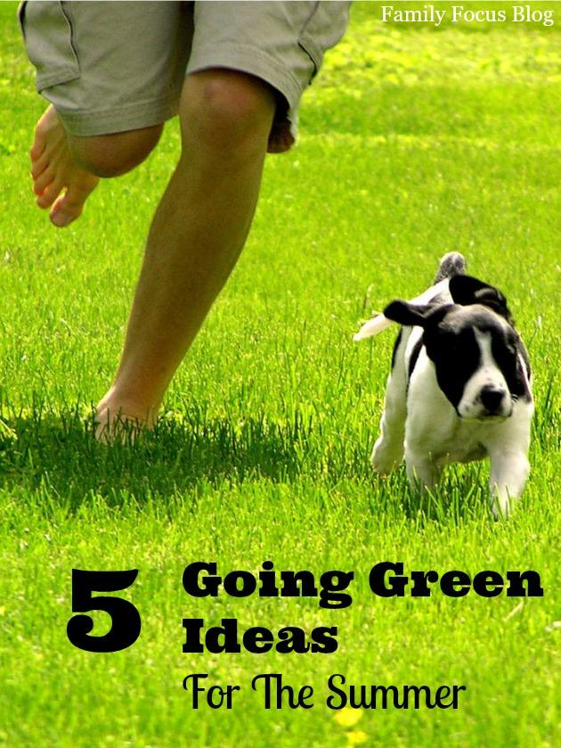 Summer Going Green Ideas