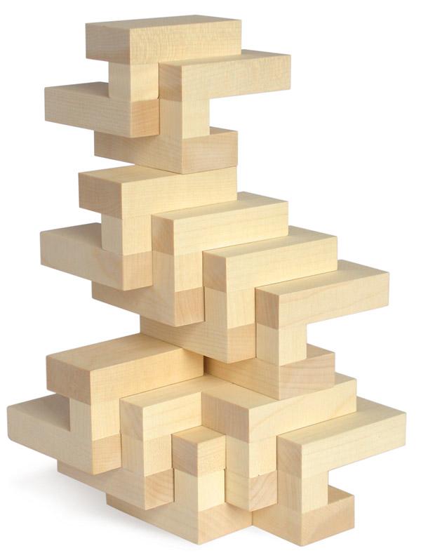 Groupius Wooden Building Blocks