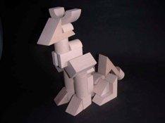 Tsumiki wooden building blocks