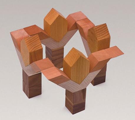 Bibros wooden building blocks