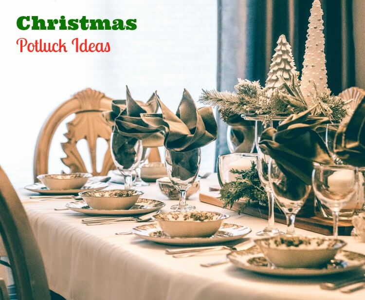 Christmas potluck ideas