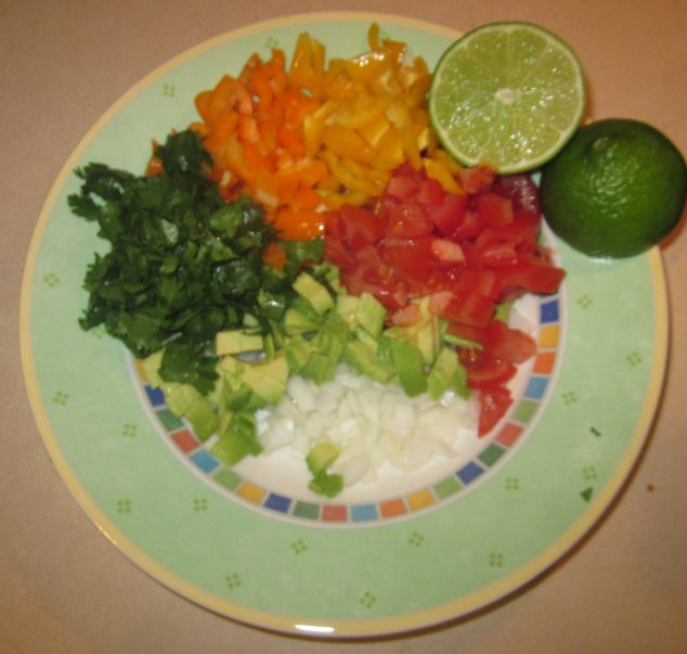 bell pepper avocado salsa recipe