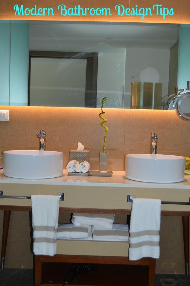 Modern Family Bathroom Design