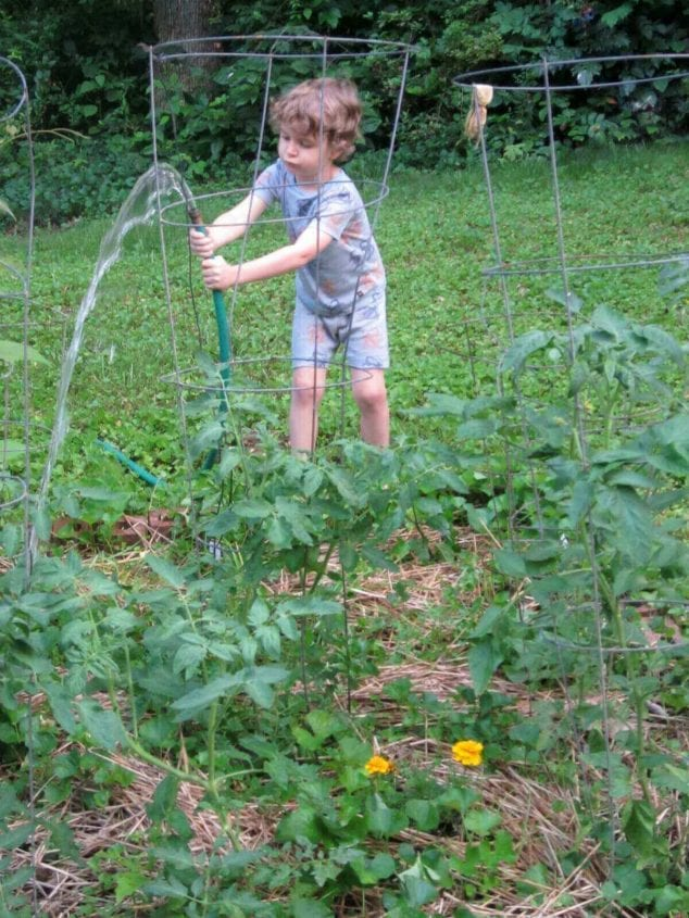 benefits gardening for children
