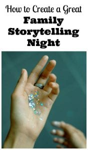 family storytelling night
