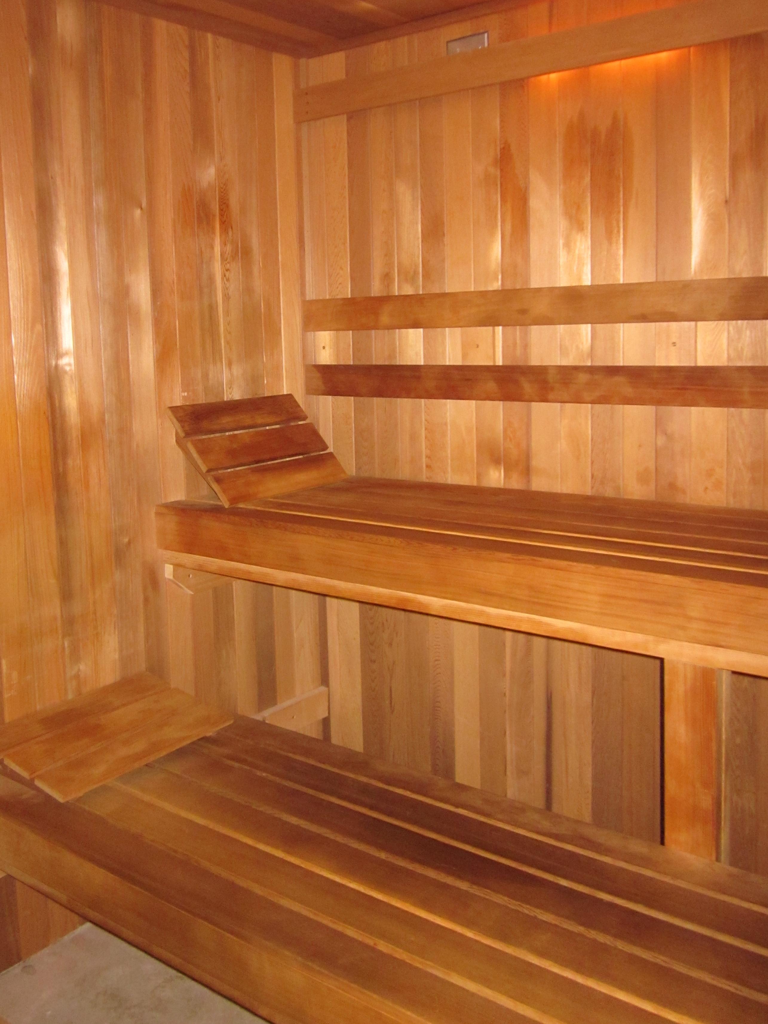 Callaway Gardens Spa sauna