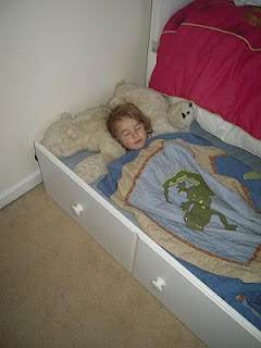 Child Afraid To Sleep Alone