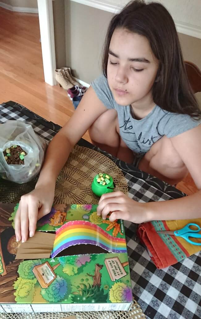 how to make leprechaun trap
