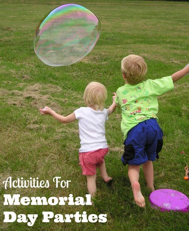 activities for memorial day