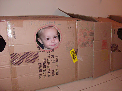 box fort tunnel