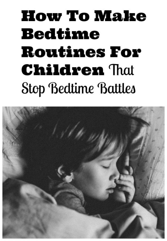 Bedtime Routine For kids