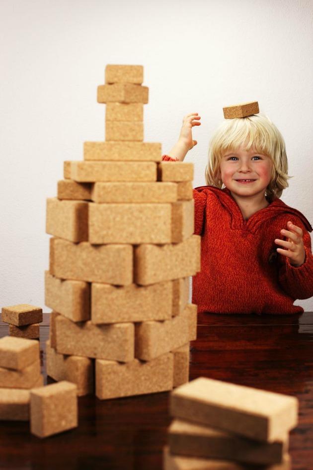 cork building blocks