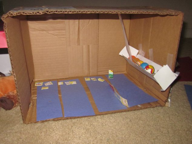 Cardboard Boxes Crafts - Bowling Alley