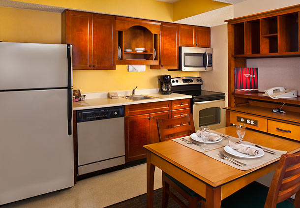 Residence Inn hotel with kitchen