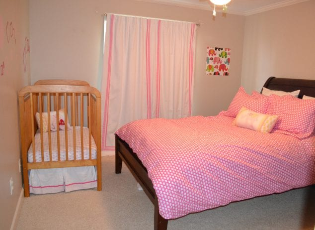 guest room and nursery