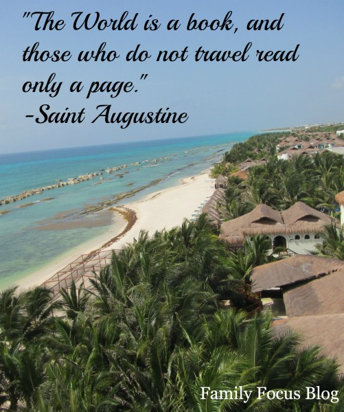 travel quote- the world is a book