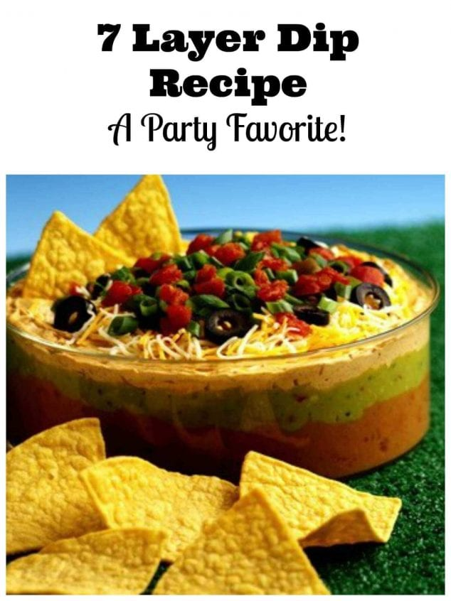 7 layer dip reicpe