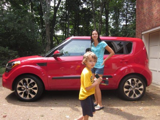 KIA Soul SUV family car