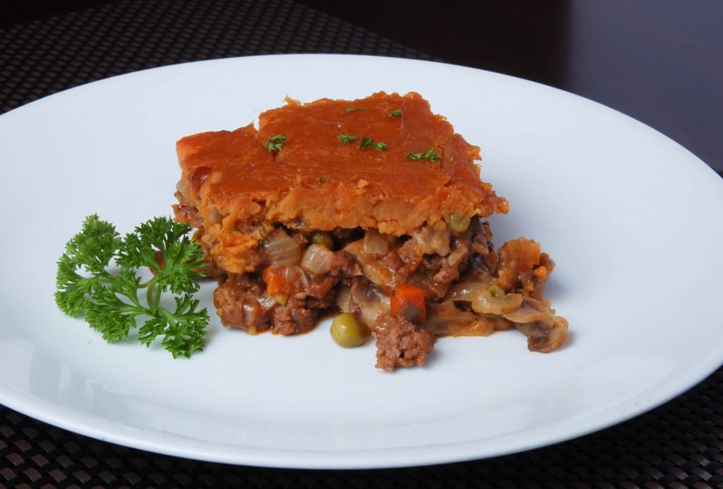 easy cottage pie recipe with sweet potato