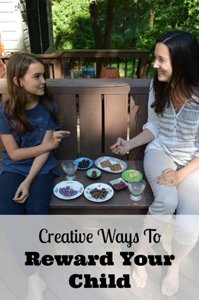 creative ways for reward your child