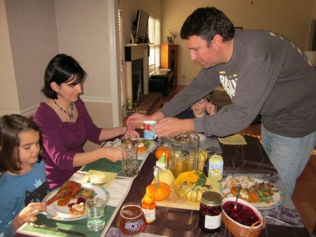 Thanksgiving Cornbread Dressing