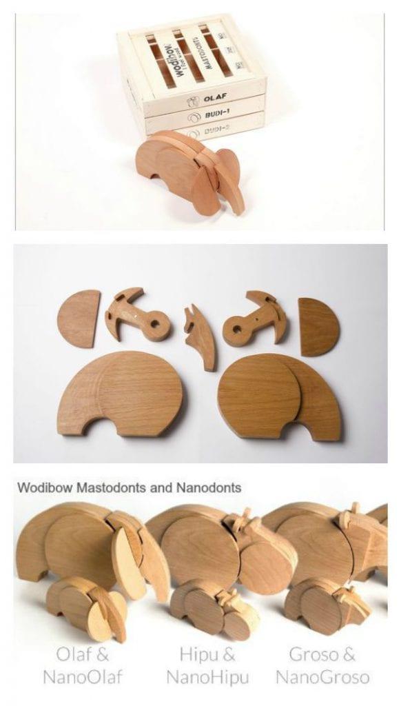 imaginative toys Wodibow Wodibow Mastodonts Nanodonts