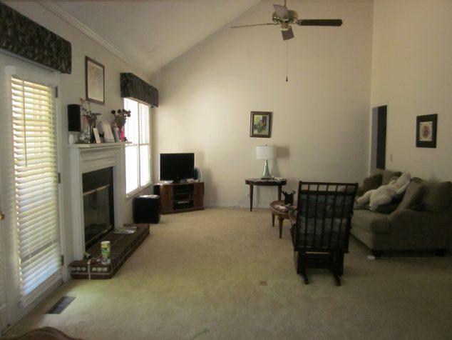 My living room before LaZ Boy design