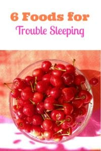 6 foods for trouble sleeping- 3 to eat and 3 to avoid for a better night's sleep