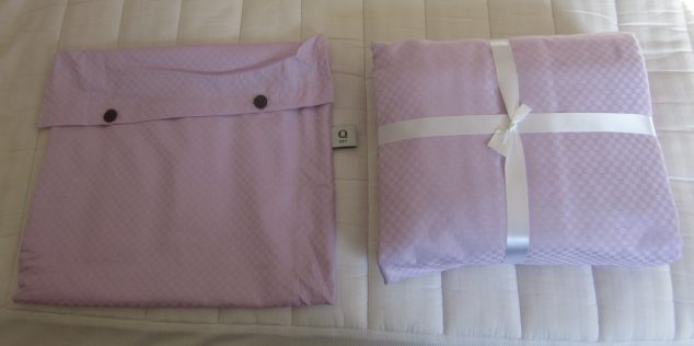 organic sheet set with case
