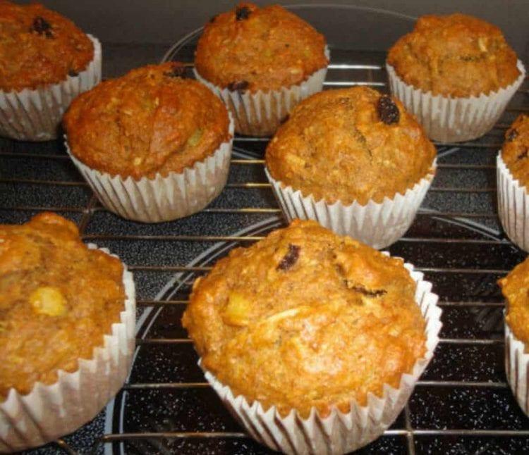 pumpkin morning glory muffins