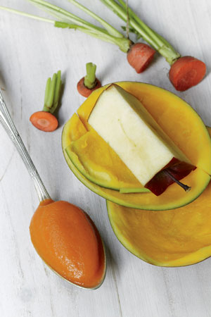 Apple Carrot Mango Baby Food Puree Recipe From Tyler Florence's Start Fresh Cookbook