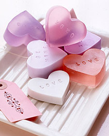 homemade love soap