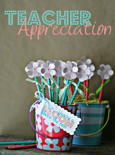 10 DIY teacher gift ideas / Family Focus Blog