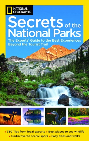 """National Geographic """"Secrets of the National Parks"""" Book"""