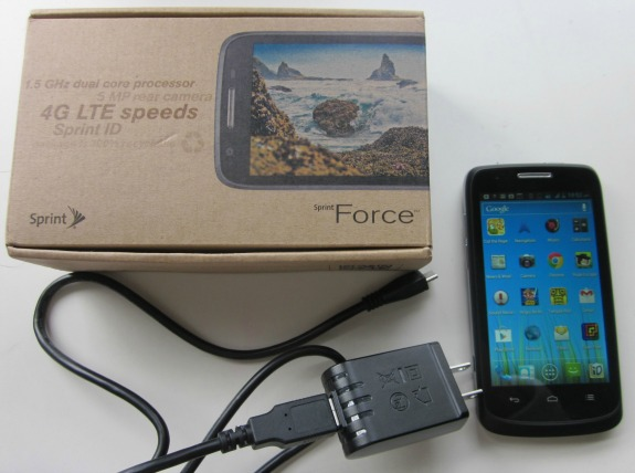 Sprint Force Smartphone Review / Family Focus Blog