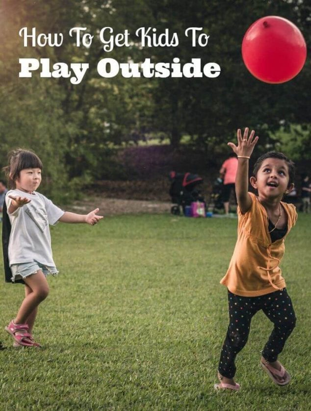 how to get gets to play outside