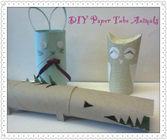 DIY Upcycled Paper Tube Animals | Parenting Blog | Family Focus Blog