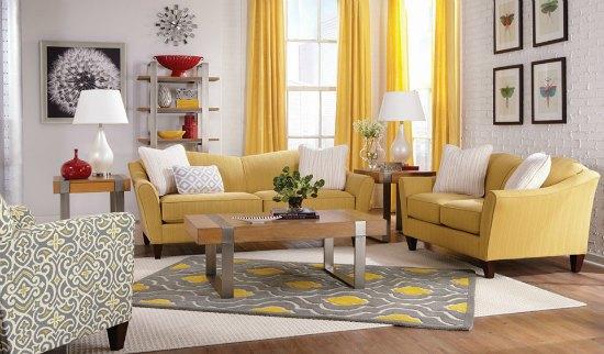 Family Room Inspiration: Demi Room by La-Z-Boy
