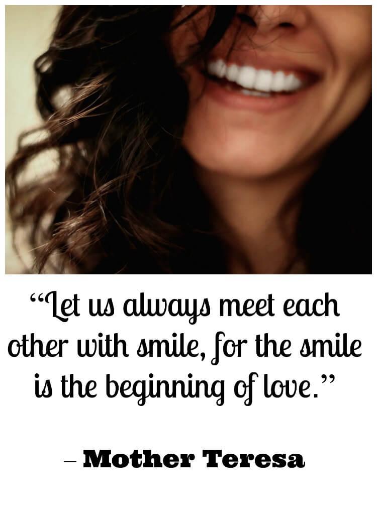 Smile To Reduce Stress