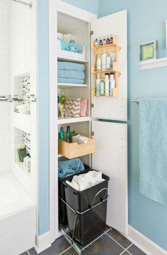 organize your bathroom / Family Focus Blog