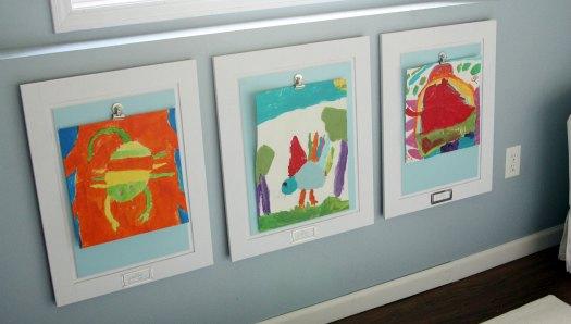 Kids Rotating Art Display
