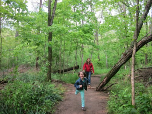 scavenger hike- summer family activities