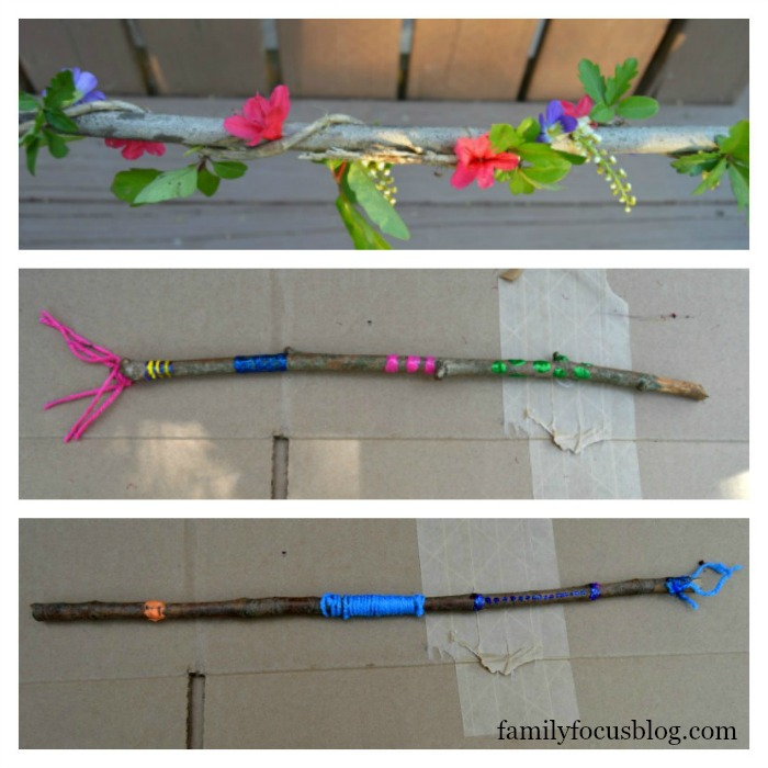 stick crafts springtime