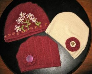 upcycled baby hats / Family Focus Blog
