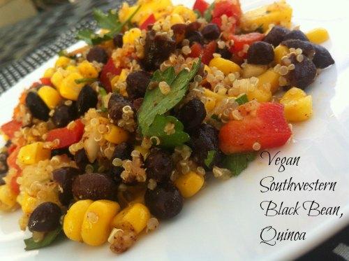 Vegan Southwestern Black Bean Quinoa