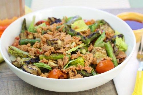 grilled veggie tuna salad no mayo