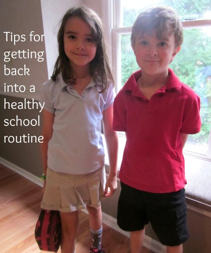 healthy school routine