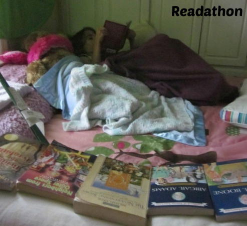keep kids busy on gameday- readathon