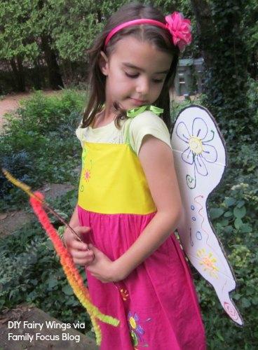 DIY Fair Wings and Wand